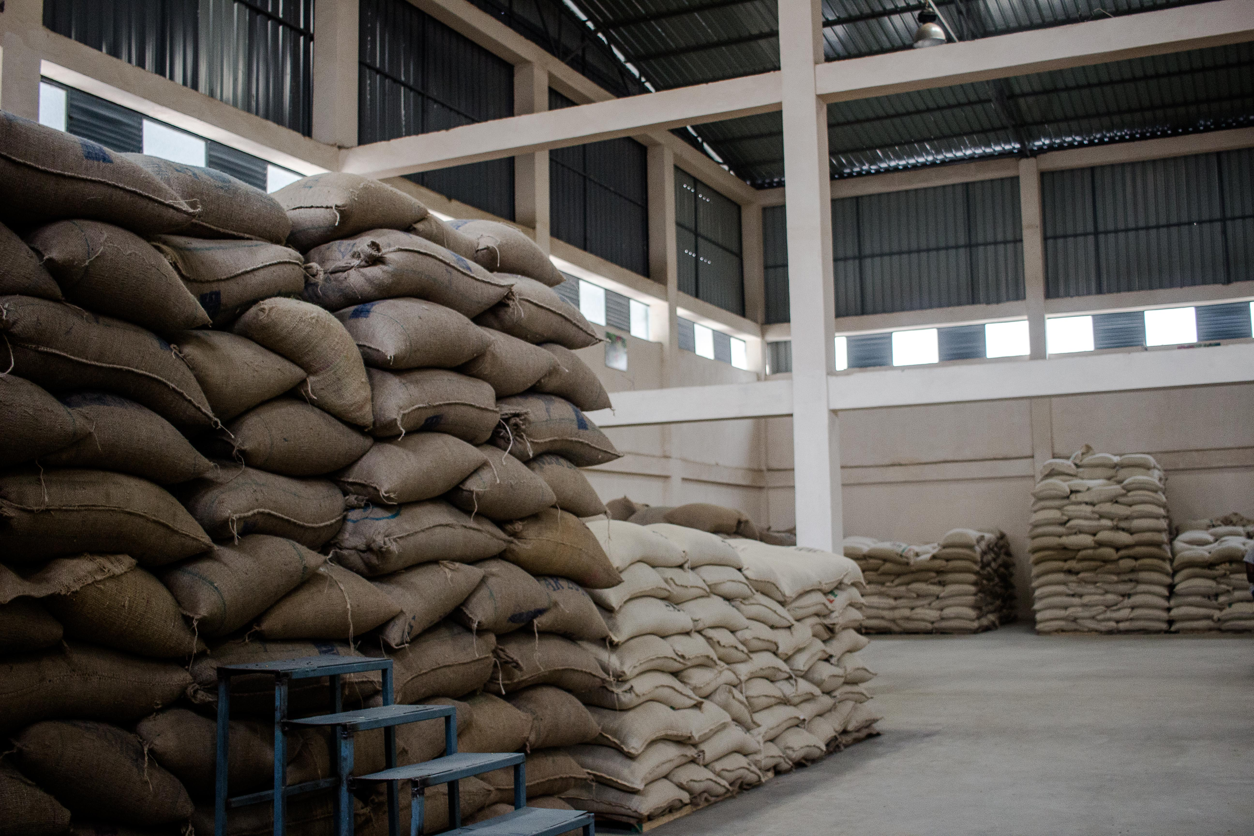 Dry mill & Warehouse